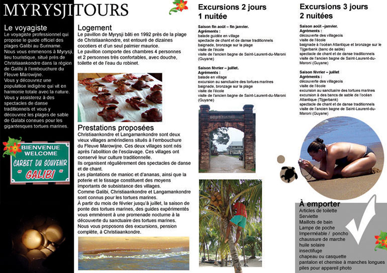 Tour Folder